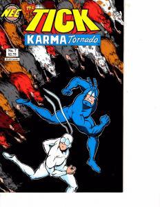 Lot Of 2 Comic Books NEC Tick Karma Tornado #7 and Image Johnson Stroman #1  MS9