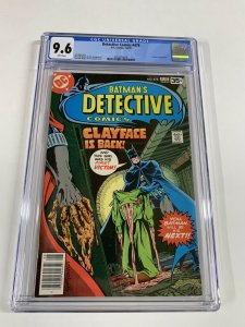 Detective Comics 478 Cgc 9.6 White Pages Batman Dc Comics 2052518018