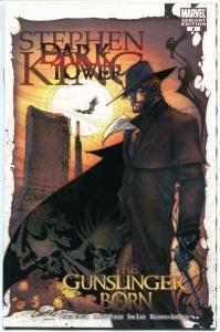 STEPHEN KING : DARK TOWER GUNSLINGER BORN #6, NM, Variant, 2007,more SK in store