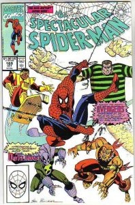 Spider-Man, Peter Parker Spectacular #169 (Dec-90) NM/NM- High-Grade Spider-Man