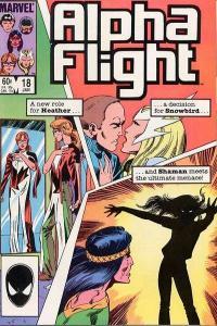 Alpha Flight (1983 series) #18, VF+ (Stock photo)