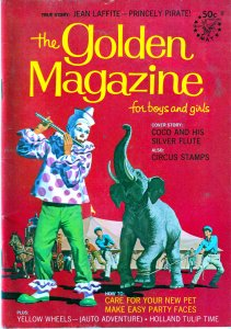 Golden Magazine # 5 Pirates and Clowns
