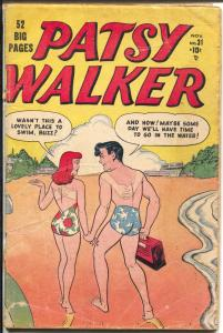 Patsy Walker #31 1950-Atlas-swimsuit cover-52 page issue-G