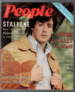 Modern People 7/31/1977-Sylvester Stallone-Cheryl Ladd-Star Trek-VG