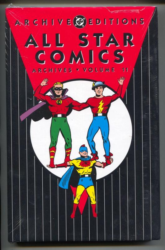 All Star Comics Archives-Vol 11-Golden Age Color Reprints-Hardcover