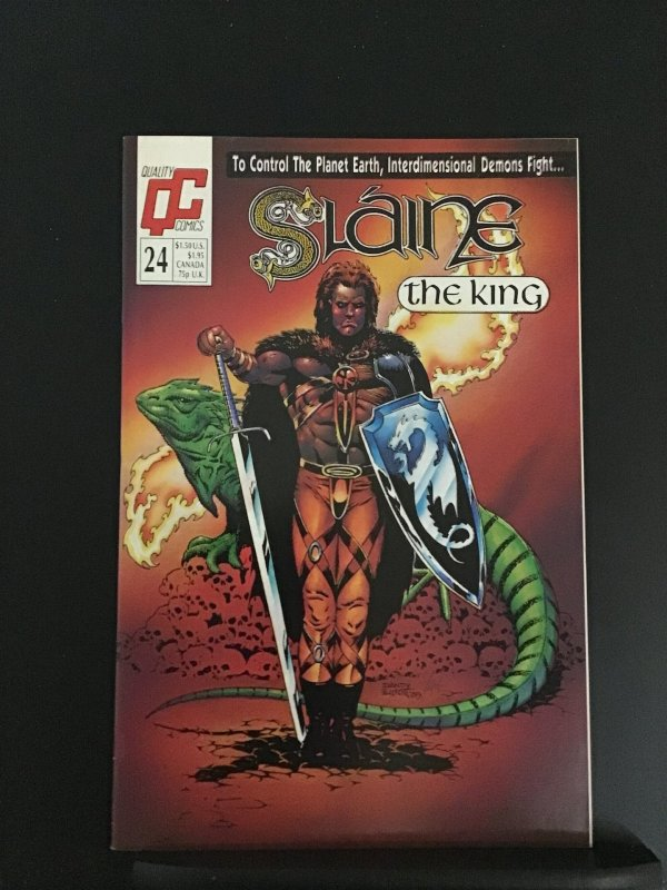 Slaine the King (GB) #24 (1989)