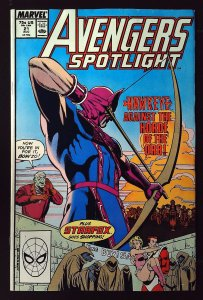 Avengers Spotlight #21 (1989)