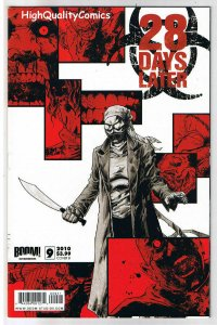 28 DAYS LATER 9, VF, Zombie, Horror, Walking  Dead, 1st, 2009, more in store  1