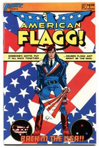 American Flagg #1 1983-comic book-Howard Chaykin-First issue