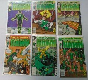 Green Lantern Emerald Dawn I set:#1-6 6.0 FN (1989)