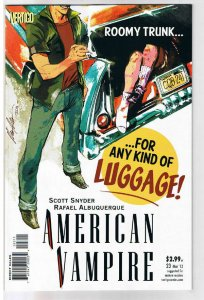 AMERICAN VAMPIRE #23, NM, Death Race, Vertigo, 2010, 1st printing, more in store