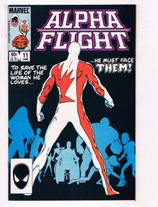 Alpha Flight #11 VF Marvel Comics Comic Book June 1984 DE24