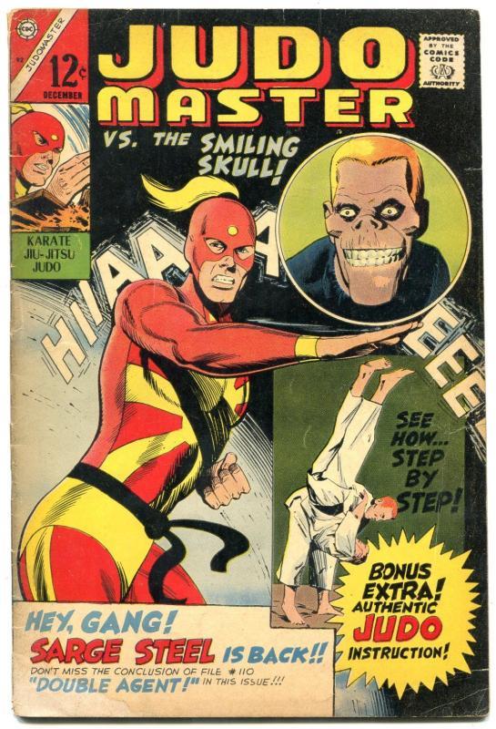 Judo Master 92 1966 Smiling Skull Charlton Comics Vg Hipcomic