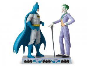 DC Comics Batman and Joker Statue by Jim Shore In Stock NIB
