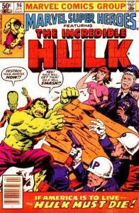 Marvel Super-Heroes (1967 series) #96, Good+ (Stock photo)