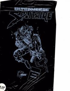 Lot Of 2 Malibu Comic Books Ultraverse Freex #9 and Solitaire #1 ON12