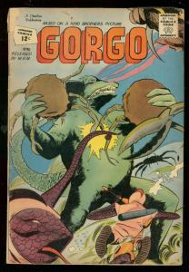 GORGO #6 1962-CHARLTON COMICS-WILD CRAB CLAW-MONSTER G