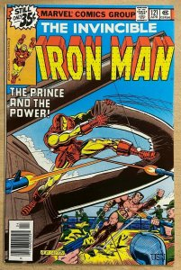 IRON MAN #121 (Marvel, 4/1979) VERY FINE-NEAR MINT(VF-NM) Michelinie, Roxxon