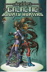 Galactic Bounty Hunters (Jack Kirby's…) #3 FN; Icon   save on shipping - details