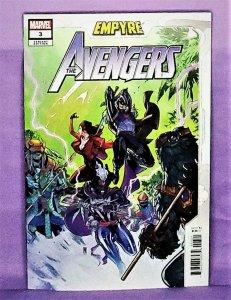 Jim Zub EMPYRE AVENGERS #3 Paco Medina Variant Cover (Marvel, 2020)!