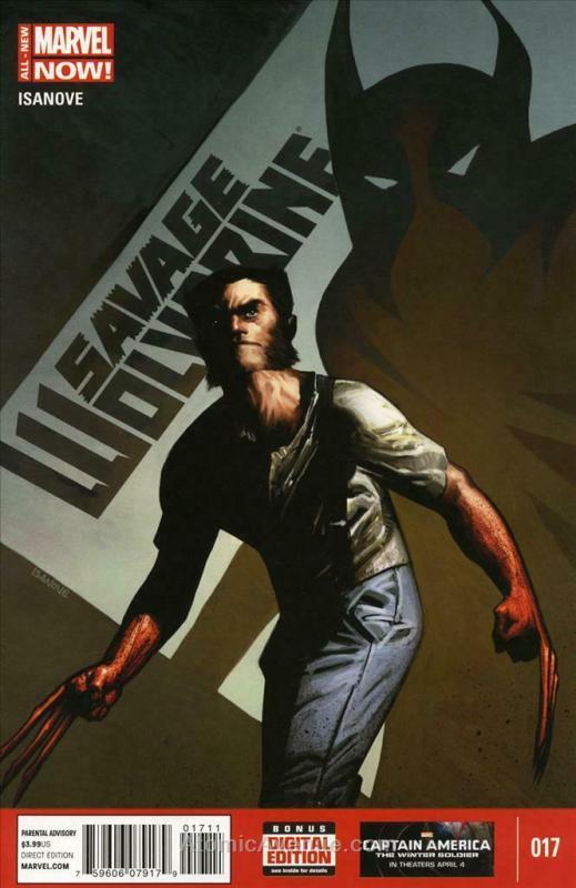 Savage Wolverine #17 FN; Marvel | save on shipping - details inside