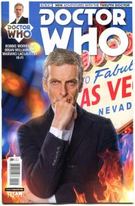 DOCTOR WHO #10 B, NM, 12th, Tardis, 2014, Titan, 1st, more DW in store, Sci-fi