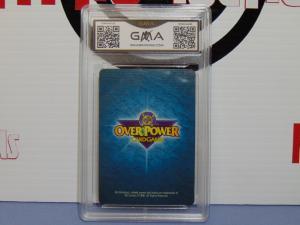 1996 DC Overpower TCG CCG Bane Batman Card - Graded Gem Mint 10