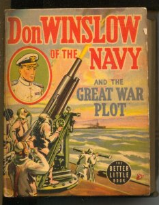 Don Winslow Of The Navy and The Great War Plot #1489-1940-pre WWII-FN-