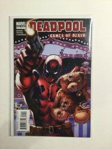 Deadpool Games Of Death Near Mint- Nm- 9.2 One-Shot Marvel