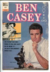 BEN CASEY #12-063-207 1962-DELL-TV SERIES-VINCE EDWARDS-good/vg