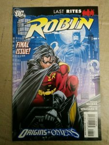 ROBIN (1993 Series) #183 Final Issue 2009 Fabian Nicieza
