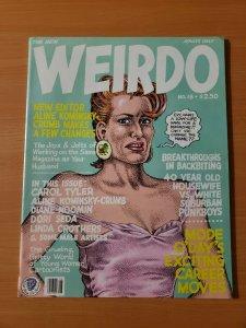 Weirdo #18 ~ VERY FINE - NEAR MINT NM ~ 1986 Last Gasp Underground R Crumb