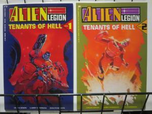 ALIEN LEGION TENANTS OF HELL 1-2  Complete SciFi Sequel