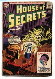House Of Secrets #61 comic book 1963-1st Eclipso-Mark Merlin- DC-G/VG