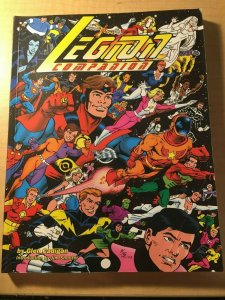 Legion Companion DC Comic Book Glen Cadigan Jim Shooter George Papp MFT2