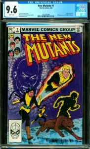 New Mutants #1 CGC Graded 9.6 Origin of Karma, 2nd New Mutants App