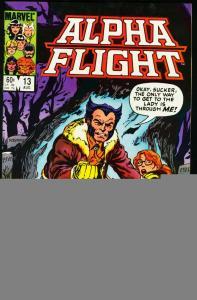 ALPHA FLIGHT #13-WOLVERINE-MARVEL-MUTANTS! NM
