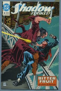 SHADOW STRIKES #4, VF/NM, Who Knows what EVIL lurks in the heart's of men