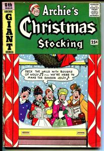 Archie's Giant series #6 1959-Betty-Veronica-Archie's Christmas Stocking-VG