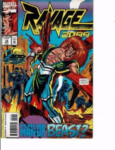 Lot Of 2 Comic Books Marvel Ravage 2099 #12 and #18 Ironman Thor  ON8