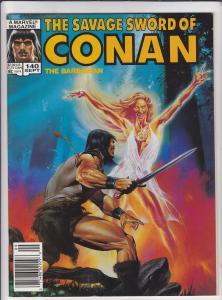 Savage Sword of Conan #140