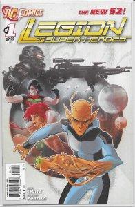 Legion of Super-Heroes   vol. 7   #  1 (1st print) VF (New 52)