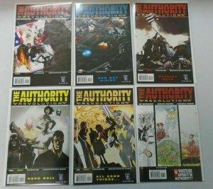 The Authority Revolution set #1-12 8.0 VF (2004)