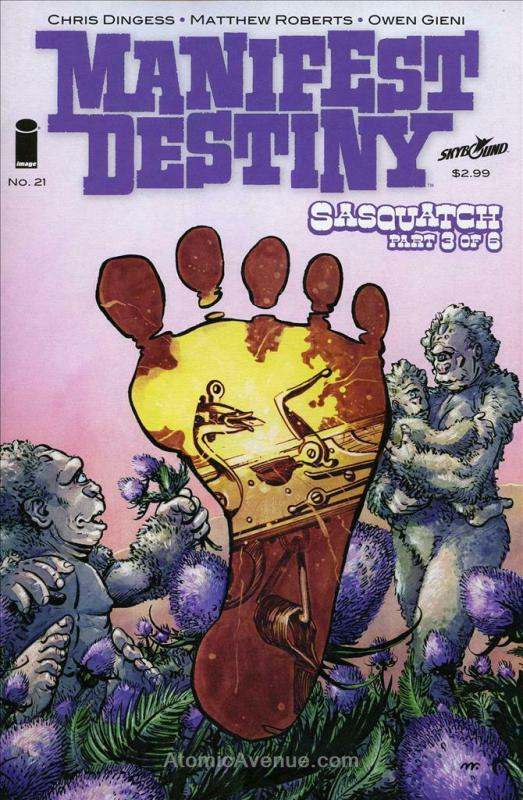 Manifest Destiny #21 VF/NM; Image | save on shipping - details inside