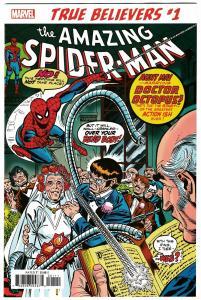 True Believers Spider-Man Wedding Aunt May Doc Ock #1 Reprints ASM #131 (NM)