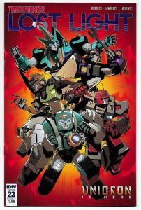 Transformers Lost Light #23 Cvr A (IDW, 2018) VF/NM