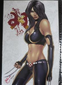 SIGNED GW Fisher X-23 Print!11x17 NM Marvel Comics Wolverine X23