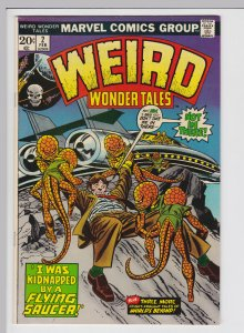 Weird Wonder Tales #2 (Feb 1973) 9.0 VF/NM Marvel Horror