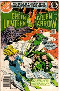 Green Lantern & Green Arrow #113 (1960 v2) Black Canary FN-