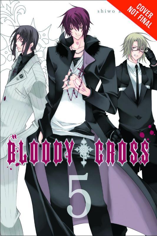 Bloody Cross Graphic Novel Vol 5 (Yen, 2014) New!